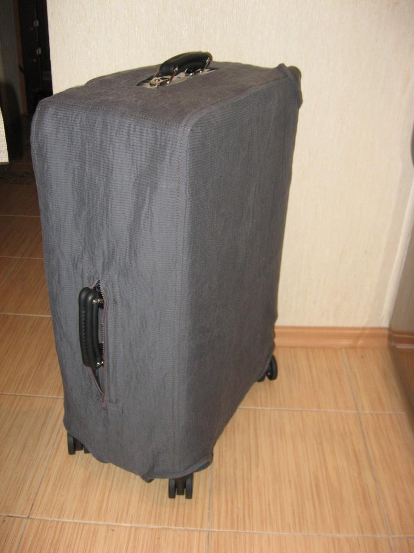чехол на чемодан фото