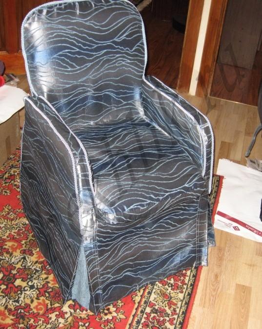 Подлокотники на кресла сшить 168